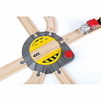 Adjustable Rail Turntable