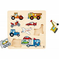 Vehicles Knob Puzzle