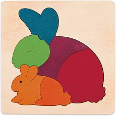 Rainbow Rabbit George Luck Puzzle