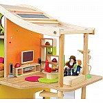 Bamboo Sunshine Dollhouse Unfurnished