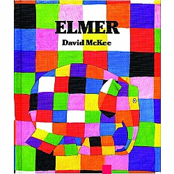 Elmer Board Book