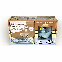 The Pigeon Needs a Bath Book with Pigeon Bath Toy!