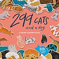 299 Cats (and a dog): A Feline Cluster 300 Pc Puzzle