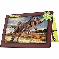 40 pc Jigsaw Puzzle Card T Rex
