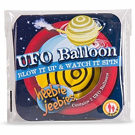 UFO Balloon in beaker