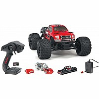 1/10 GRANITE 4x4 Mega Brushed Monster Truck RTR, Red/Black
