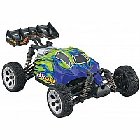 1/18 BX4.18BL Brushless 4WD RTR, Blue/Green