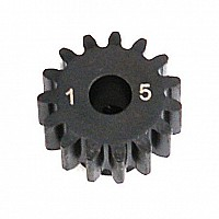 1.0 Module Pitch Pinion, 15T: 8E,SCTE
