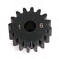1.0 Module Pitch Pinion, 16T: 8E, SCTE