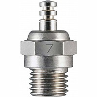#7 Glow Plug, Medium Hot Air