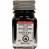 Enamel 1/4 oz Gloss Black