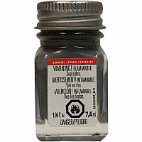 Enamel 1/4 oz Flat Battle Gray