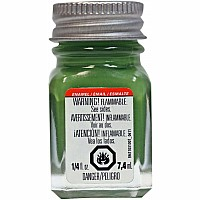 Enamel 1/4 oz Flat Green