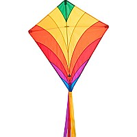 Eddy Rainbow Diamond Kite