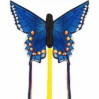 "Butterfly Kite Swallowtail Blue ""R"""