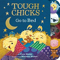 Tough Chicks Go to Bed Board Book