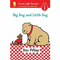 Big Dog and Little Dog (Green Light Reader Level 1)