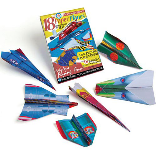paper airplane kit mary arnold toys