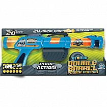 Atomic Double Barrel Power Popper - Blue
