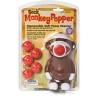 Sock Monkey Popper