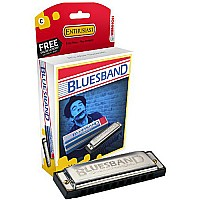 Hohner 1501bx Bluesband Harmonica Key Of C Clamshell