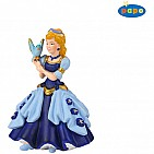 Princess With Bird Blue