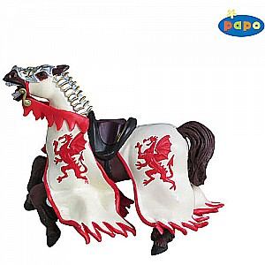 Red Dragon King Horse