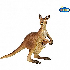 Papo Kangaroo with Joey