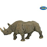 Papo Black Rhinoceros