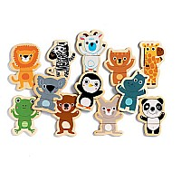 Cocou Jungle 24pcs Magnet