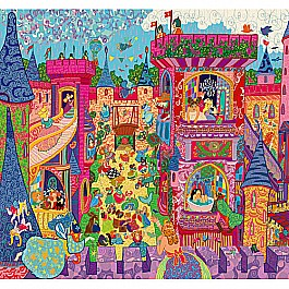 Djeco Fairy Castle Puzzle 54pcs