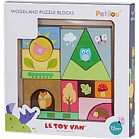 Woodland Puzzle Blocks