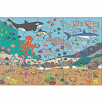 Green Start Giant Floor Puzzles: Under The Sea (35Pc)