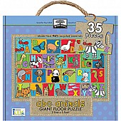 Green Start Giant Floor Puzzles: ABC Animals (35Pc)