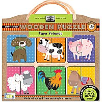 Innovative Kids Green Start Farm Friends Puzzle