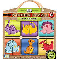 Innovative Kids Green Start Little Dinosaurs Puzzle