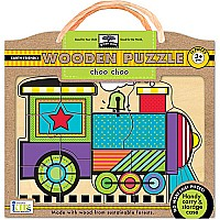 Innovative Kids Green Start Choo Choo Puzzle
