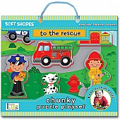 Soft Shapes Chunky Puzzle Playsets: To The Rescue