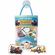 Soft Shapes Tub Stickables: Trucks (Photography)