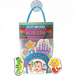 Soft Shapes Tub Stickables: Mermaids (Illustrated)
