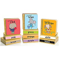 Green Start Book Towers: Little Color Books