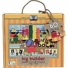 Green Start Giant Floor Puzzles: Big Builder (60Pc)