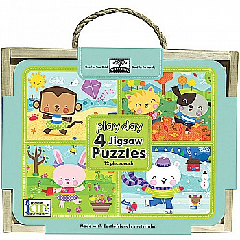 Green Start Jigsaw Puzzle Box Sets: Play Day