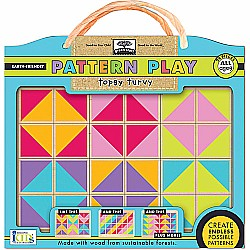 Green Start Pattern Play Puzzles: Topsy Turvy