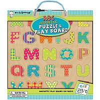 Now I'm Growing! Magnetic Puzzle & Play Boards: ABC