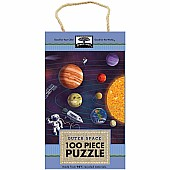 Green Start 100-Piece Puzzle: Outer Space