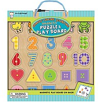 Now I'm Growing! Magnetic Puzzle & Play Boards: Shapes Colors Counting