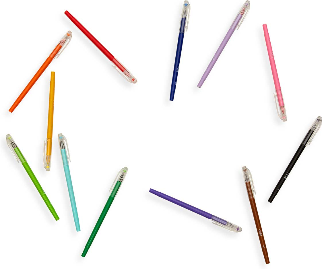 Petite Point Gel Pens - Set of 12