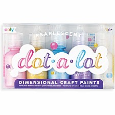 Dot-A-Lot Dimensional Craft Paint: Pearlescent (Set of 5)