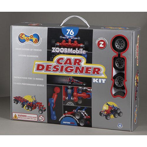 Zoob Car Designer Kit Cheeky Monkey Toys